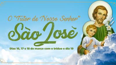 """O """"Tutor de Nosso Senhor"""", São José, será celebrado com missa e procissão em São Francisco do Conde Tríduo ocorrerá entre os dias 16 e 18 de março. Já a procissão seguida de missa será na data que comemora o santo, 19 de março"""