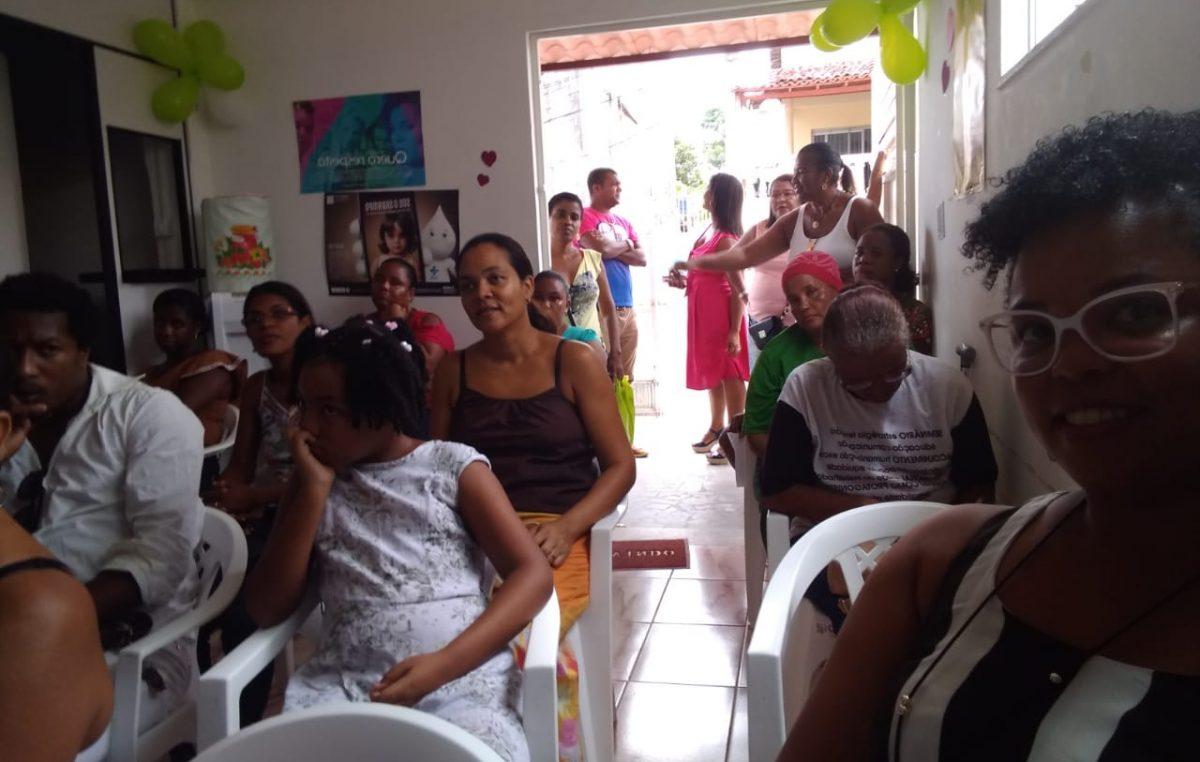 Março Cinza: USF Centro II realizou ação de valorização da autoestima da mulher e empreendedorismo Ação contou com a parceria da Secretaria de Desenvolvimento Econômico – SEDEC
