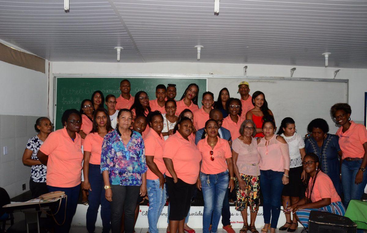 A Escola de Governo promoveu curso de capacitação para os profissionais que trabalham no Serviço de Convivência e Fortalecimento de Vínculos