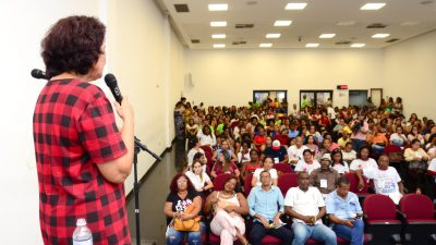 Com auditório lotado, município realizou a V Conferência Municipal de Saúde, na Câmara
