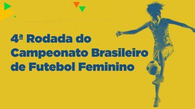4ª Rodada do Campeonato Brasileiro de Futebol Feminino acontece no dia 14 de abril no Junqueirão