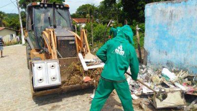 Operação Chuva: Equipes da SESCOP têm trabalhado incessantemente na redução dos impactos causados durante o período de chuvas no município