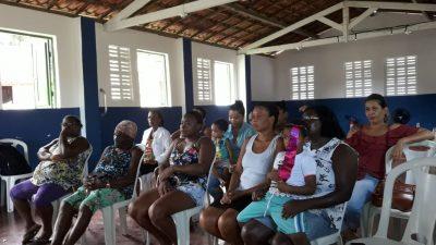 Março Cinza: Saúde promoveu ação sobre tuberculose para os moradores da Ilha do Paty