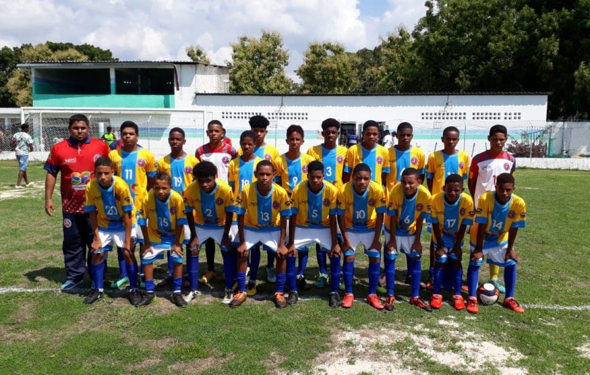 Resultado de estreia na 9ª Copa Metropolitana de Futebol Sub-15 não foi favorável para seleção franciscana