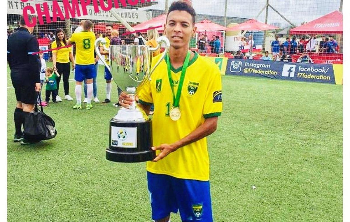 Atleta franciscano é convocado pela Seleção Brasileira de Futebol 7