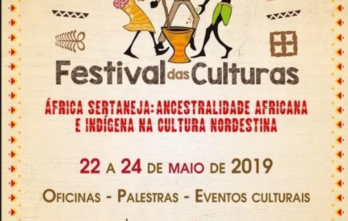 UNILAB realizará o IV Festival das Culturas de 22 a 24 de maio