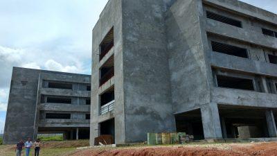 UNILAB: Obras de expansão são retomadas no Campus dos Malês em São Francisco do Conde