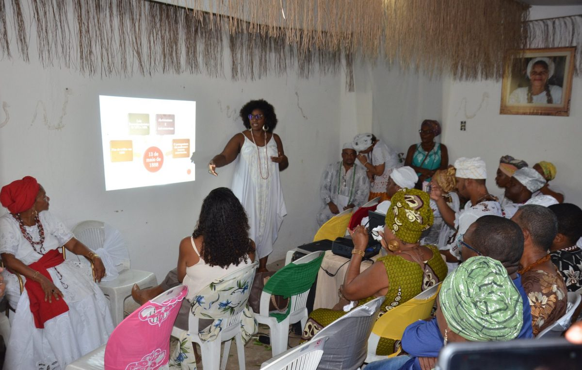 5º ano da Lei 361/2014, que dispõe sobre o Dia das Religiões de Matriz Africana no município franciscano, foi celebrado com um encontro de ressignificação da data 13 de maio