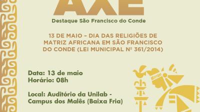 IV edição do Troféu Destaque Axé acontecerá no dia 13 de maio (segunda-feira)