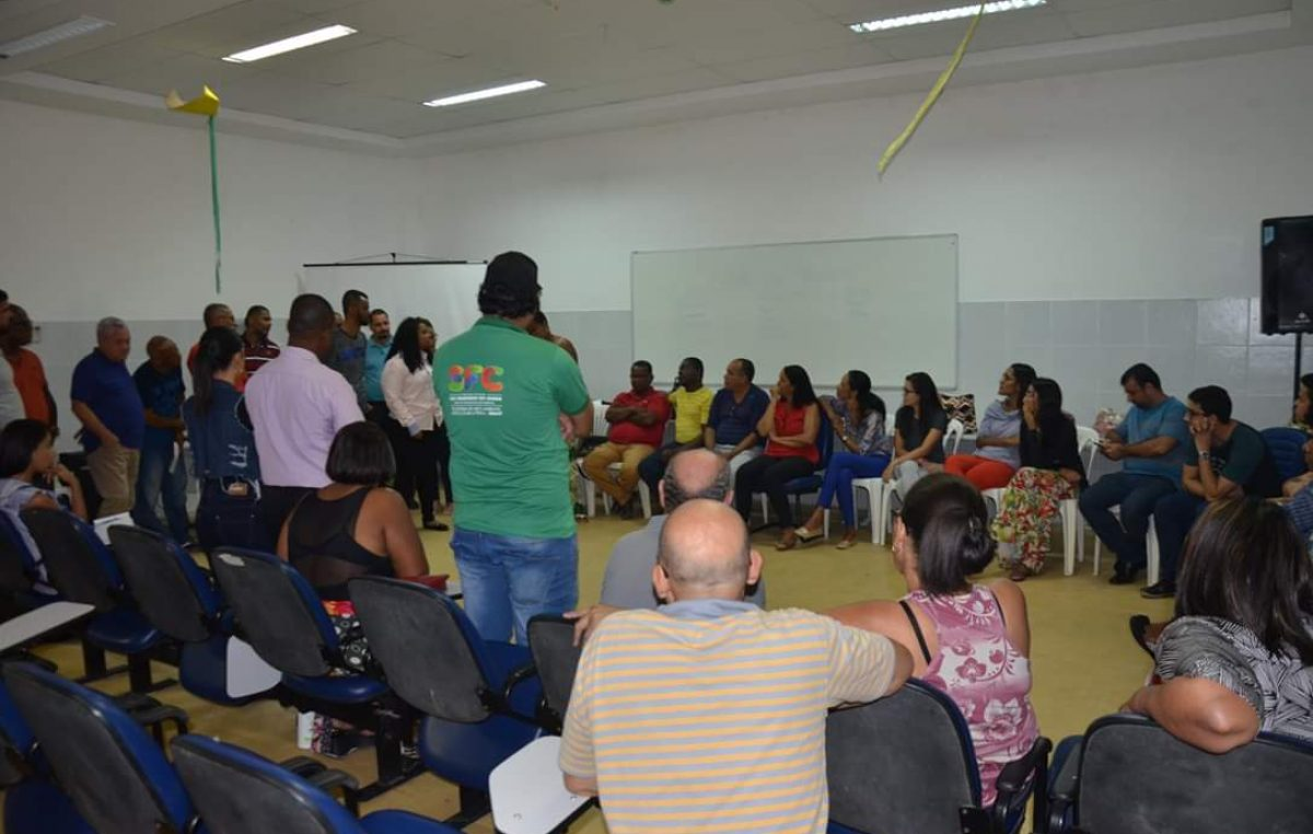SDHCJ realizou primeiro workshop com servidores da SEMAP nessa última quarta-feira (29)