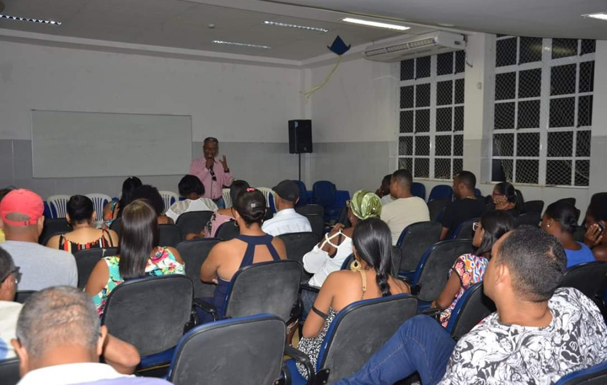 Funcionários da Secretaria de Cultura participaram do Workshop promovido pela SDHCJ nesta sexta-feira (31)