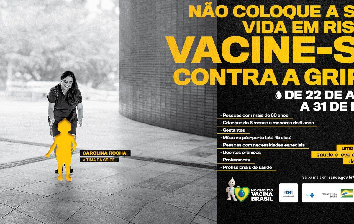 Influenza: Vacinação contra a gripe termina dia 31 de maio de 2019