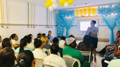 Equipe do Hospital Célia Almeida Lima e do P.A de Muribeca participaram do I Workshop Segurança do Paciente