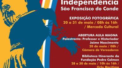 São Francisco do Conde recebe o Projeto Rota da Independência de 20 a 31 de maio