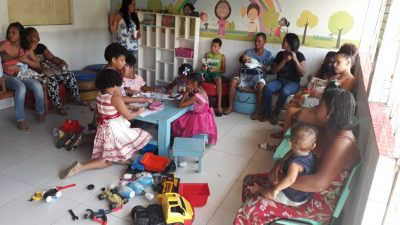 Núcleo Integrado de Cuidados à Criança e à Pessoa com Doença Falciforme Rilza Valentim comemorou o Dia das Mães