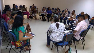 Escuta aos alunos da Rede Municipal de Ensino e encontro dos Grupos de Trabalho marcaram a semana de elaboração do Referencial Curricular Franciscano