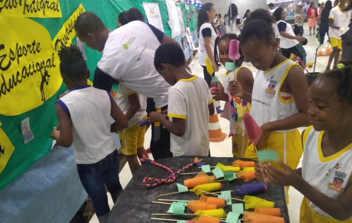 Seminário com os resultados dos cinco primeiros blocos formativos da Rede de Parceiros Multiplicadores do Esporte Educacional, em São Francisco do Conde, aconteceu na Secretaria da Educação