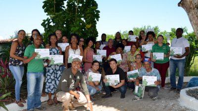 SEMAP realizou encerramento do curso de Formação de Agentes Multiplicadores Ambientais, em parceria com Projeto Co2 Manguezal