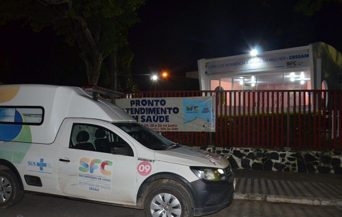 Arraiá do Chico 2019: Saúde oferece serviços no circuito dos festejos