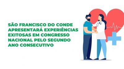 São Francisco do Conde apresentará experiências exitosas em Congresso Nacional pelo segundo ano consecutivo