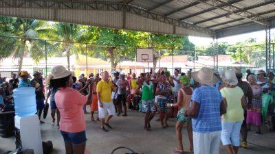 130 idosos participaram de atividade de lazer em Santo Estevão
