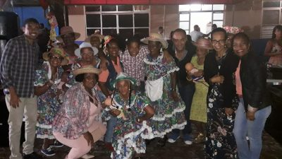 Idosos de São Francisco do Conde participaram dos festejos juninos da 10ª Companhia Independente da Polícia Militar da Região