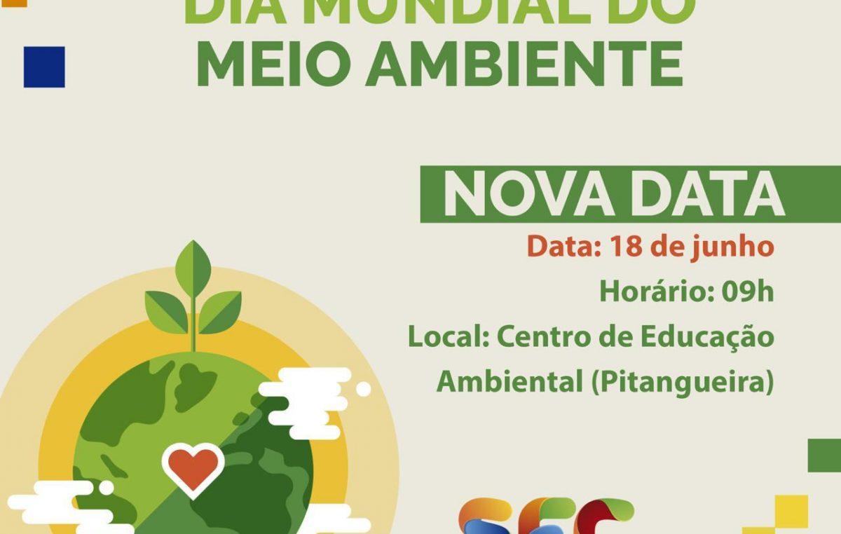 Uma nova data foi marcada para a celebração do Dia Mundial do Meio Ambiente