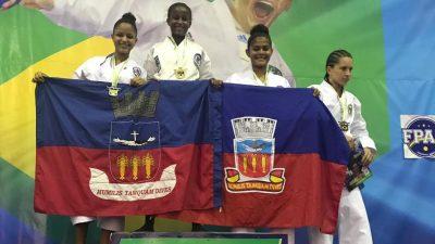 Atletas franciscanos conquistaram 21 medalhas na 3ª etapa do Campeonato Brasileiro de Karatê