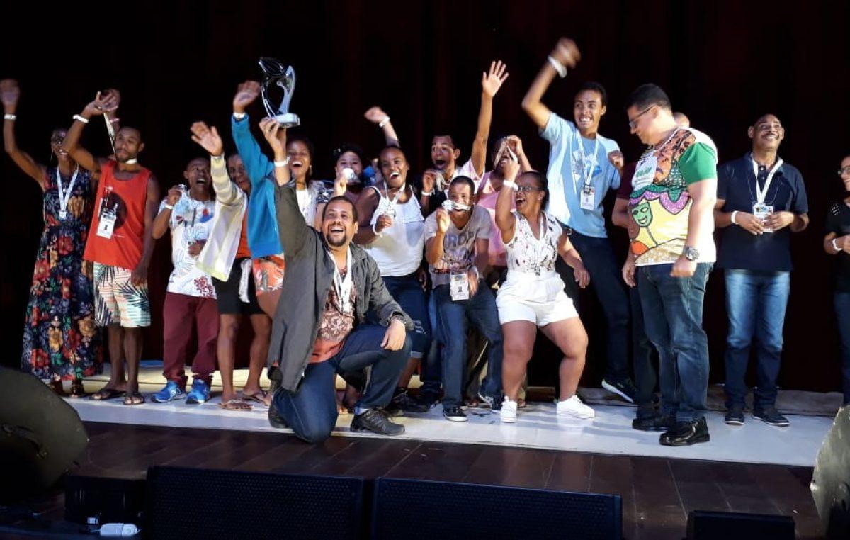 Alunos da APAE são premiados no X Festival Estadual Nossa Arte da Bahia, em Ilhéus