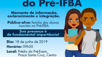 Confirmação de matrícula dos alunos do Pré-IFBA acontece na terça-feira (18)