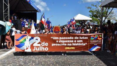 Momento histórico: Desfile cívico em homenagem à participação franciscana nas lutas pela Independência do Brasil na Bahia aconteceu na última sexta-feira (05) nas ruas de São Francisco do Conde