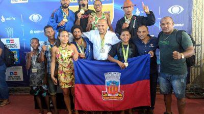 Equipe franciscana de Jiu-jitsu conquista 12 medalhas na III Etapa do Campeonato Baiano