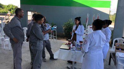 São Francisco do Conde leva serviços de saúde para os trabalhadores da empresa Petrobahia na SIPAT 2019
