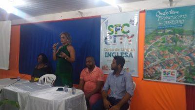 SETUR: Aula Inaugural do Curso de Língua Inglesa aconteceu nesta última terça-feira (23)