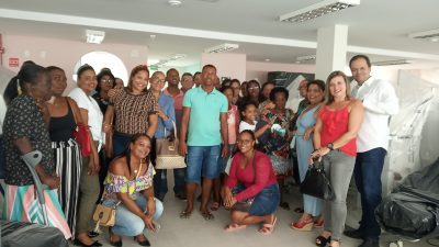 Pacientes de São Francisco do Conde e seus familiares realizaram visita ao Instituto de Nefrologia do Recôncavo – INERE