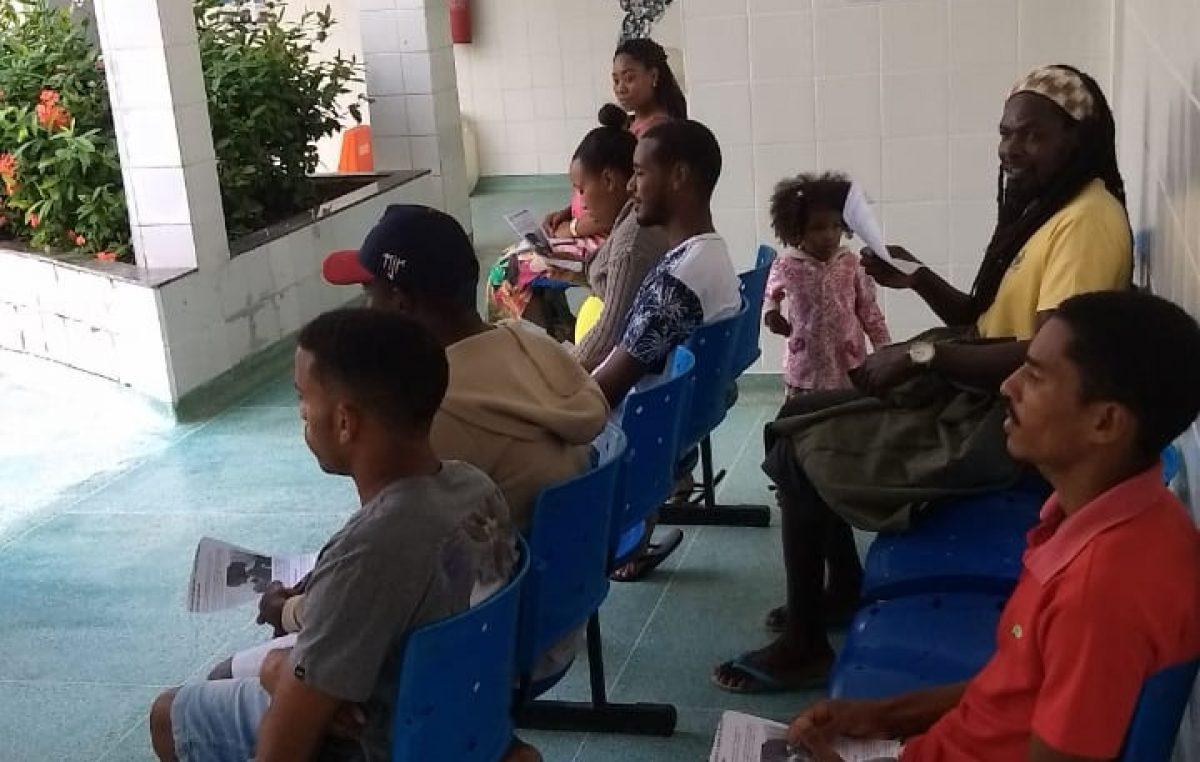 Na última terça-feira, 09, a Unidade de Saúde da Família – USF, do bairro de São Bento, promoveu atendimentos durante uma ação intitulada Terceiro Turno.