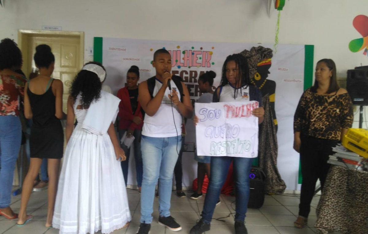 Dia Internacional da Mulher Afro-Latina, Americana e Caribenha inspirou reflexões na Escola Municipal Joaquim Alves Cruz Rios