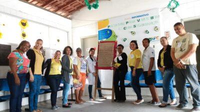 Julho Verde e Amarelo: Ações contra as hepatites virais continuam acontecendo no município