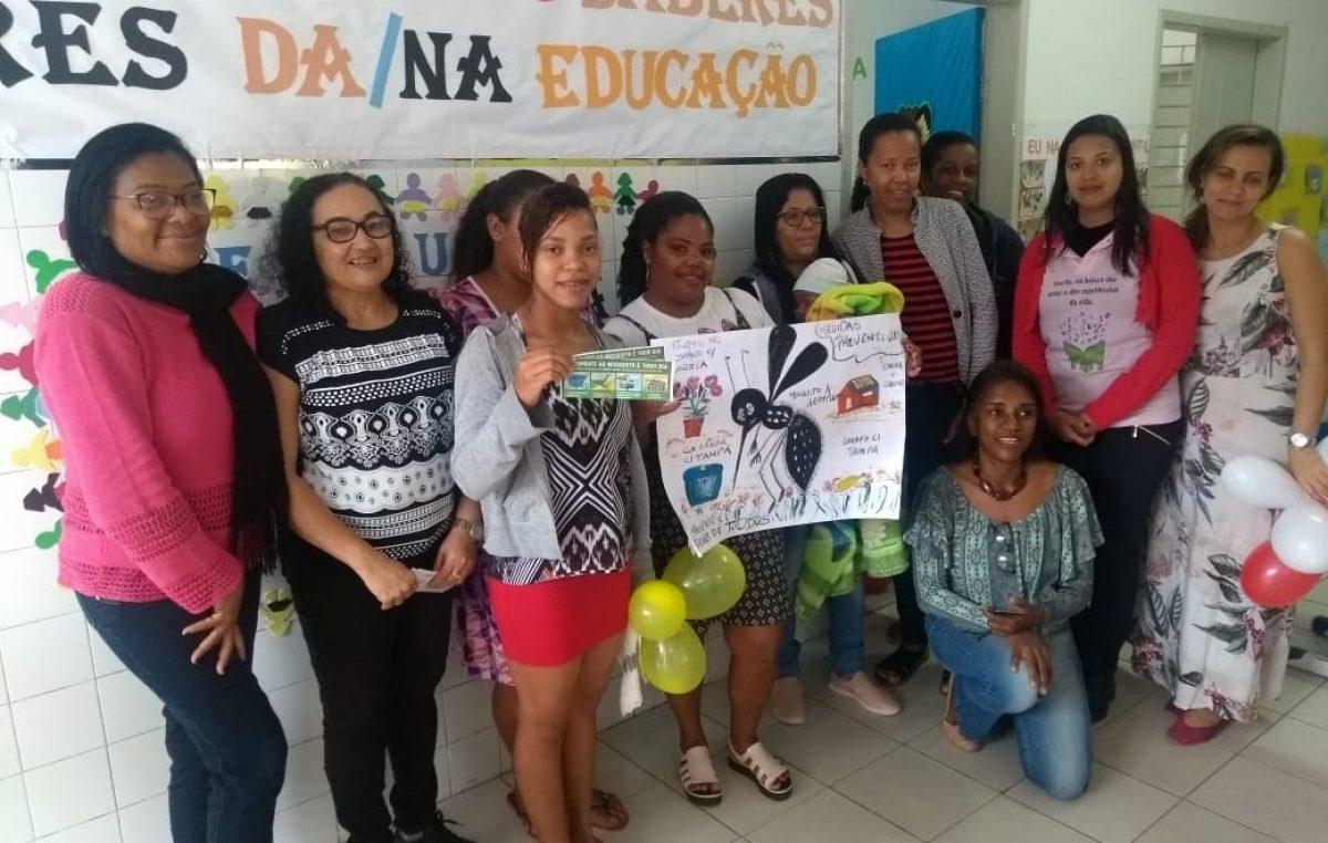 Saúde promoveu ações do Programa Saúde na Escola e últimas atividades em alusão ao Julho Verde e Amarelo