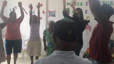 CRAS Coroado inicia ações do SCFV para Pessoa Idosa