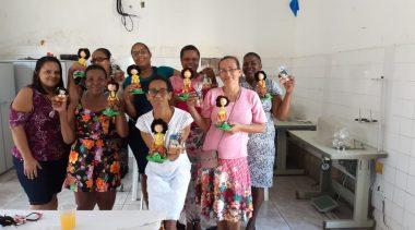 SECULT realizou as entregas dos certificados para os alunos do Curso de Artesanato