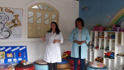 Núcleo Integrado de Cuidados à Criança e à Pessoa com Doença Falciforme promoveu a  amamentação