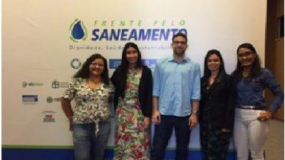 Representantes da SEMAP participaram Reunião Inaugural da Região Nordeste, da Frente Parlamentar Mista pelo Saneamento