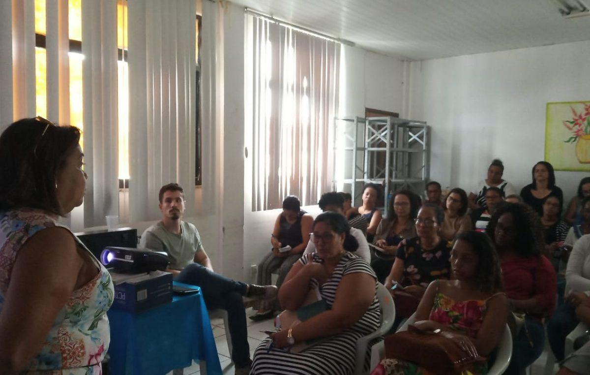 Saúde realizou atividade educativa com enfermeiros e técnicos