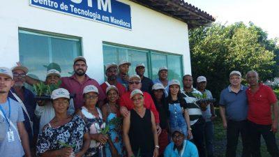 Agricultores familiares de São Francisco do Conde participam de Dia de Campo de Propagação e Plantio de Fruteiras