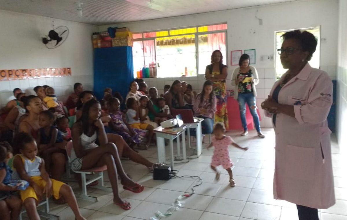 Saúde vem fortalecendo ações do Programa Saúde na Escola – PSE