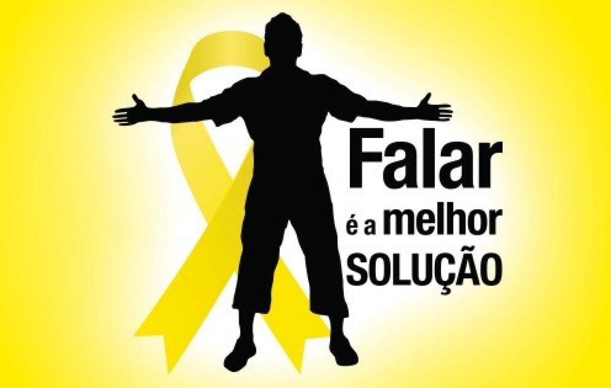 Setembro Amarelo: Complexo de Saúde do Caípe de Baixo vai falar da prevenção ao suicídio