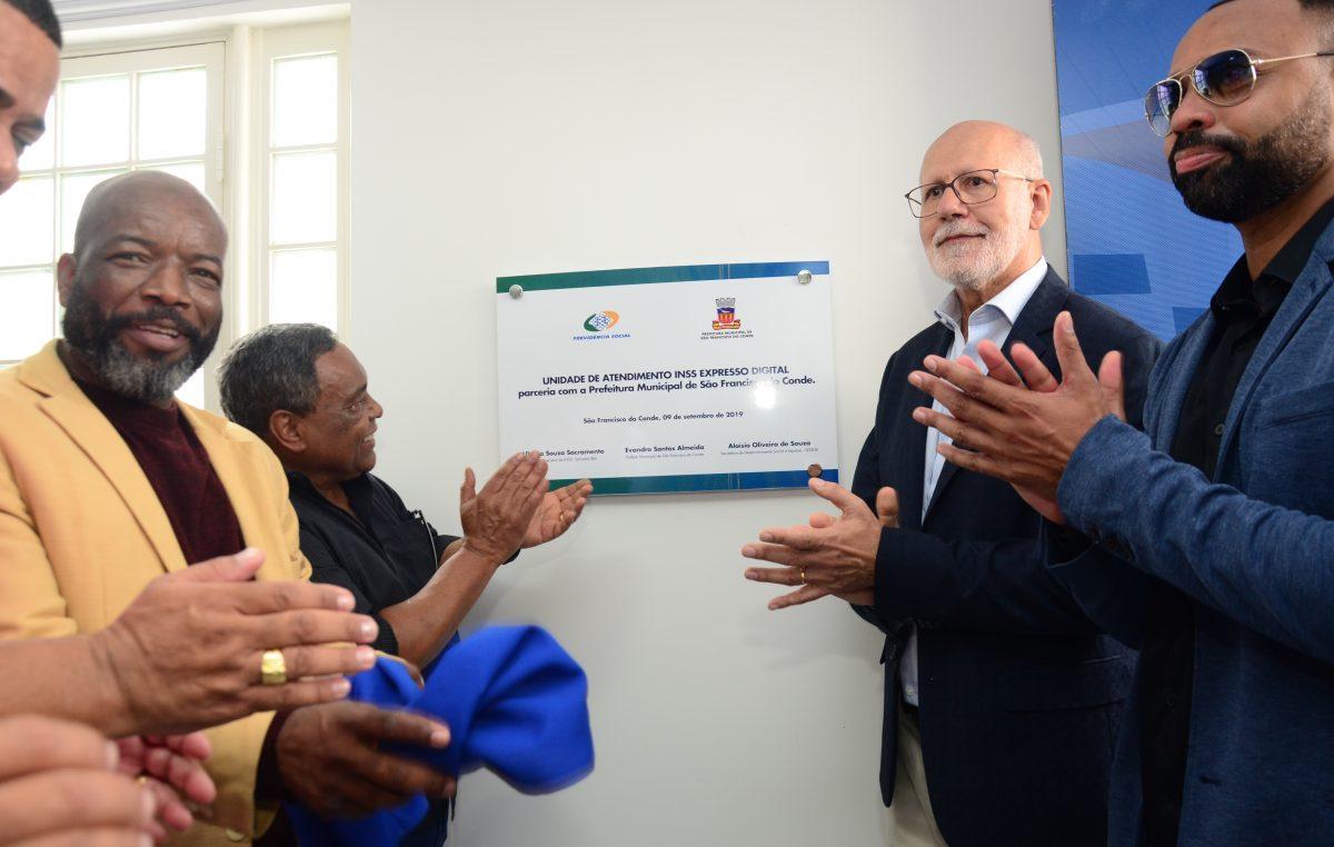 Primeira Unidade de Atendimento da Previdência Social Expresso Digital é inaugurada em São Francisco do Conde