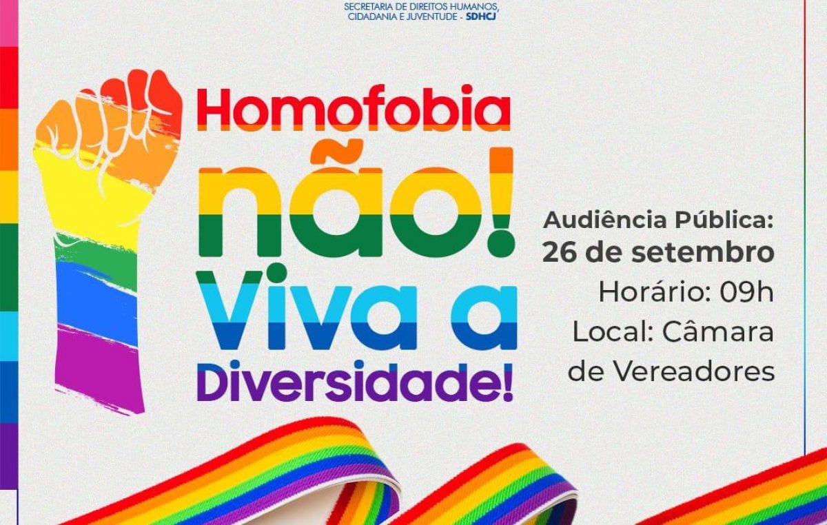 Políticas públicas para a população LGBTQI+ estarão em pauta na Audiência Pública promovida pela Secretaria de Direitos Humanos, Cidadania e Juventude de São Francisco do Conde