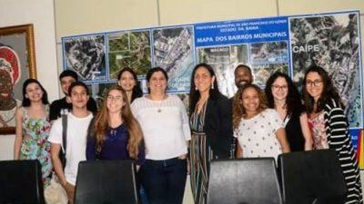 Estudantes universitários aprimoram conhecimento sobre planejamento urbano com visita técnica à São Francisco do Conde